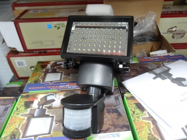 Sunforce LED Solar Motion Light Costco