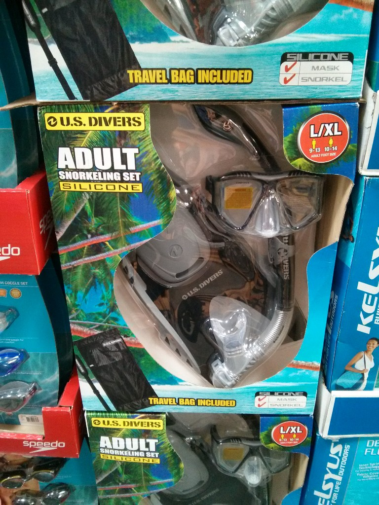 US Divers Adult Snorkel Set Costco