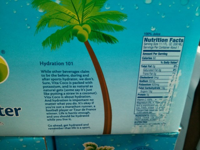 Vita Coco Coconut Water Costco