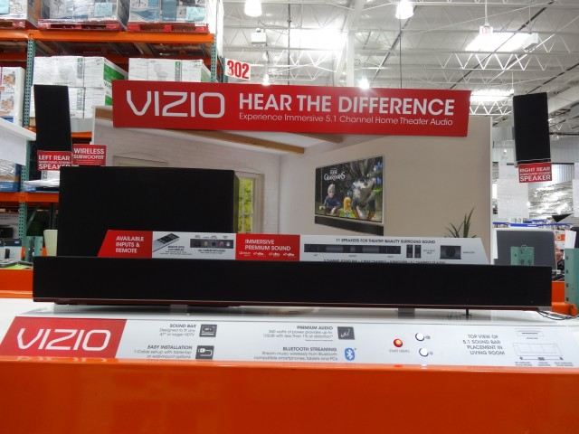 Vizio 5.1 Soundbar Costco