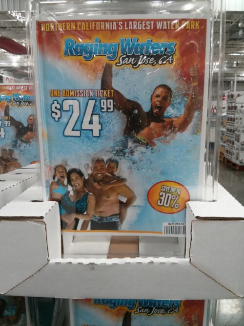 Raging Waters Discount Ticket Costco