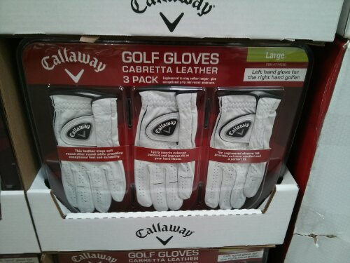 Callaway Cabretta Golf Gloves Costco