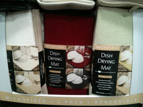 Microfiber Dish Drying Mat Costco