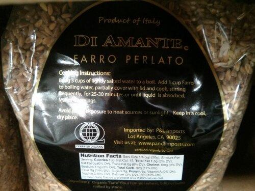 Organic Farro Perlato Costco