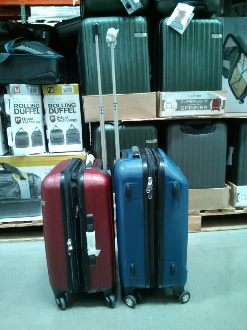 Ricardo and Samsonite carry-on luggage Costco