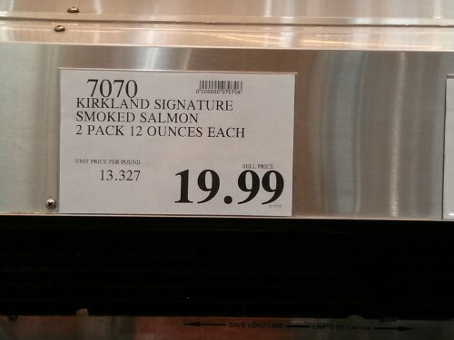 Kirkland Signature Smoked Salmon Costco