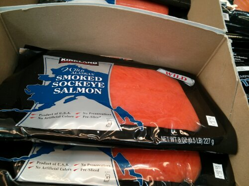 Kirkland Signature Smoked Salmon
