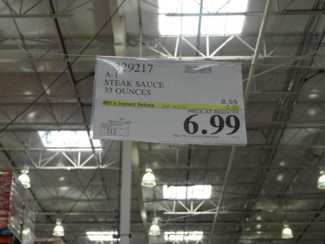 A1 Steak Sauce Costco