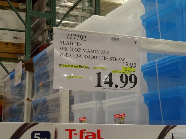 Aladdin Mason Jars Costco 2