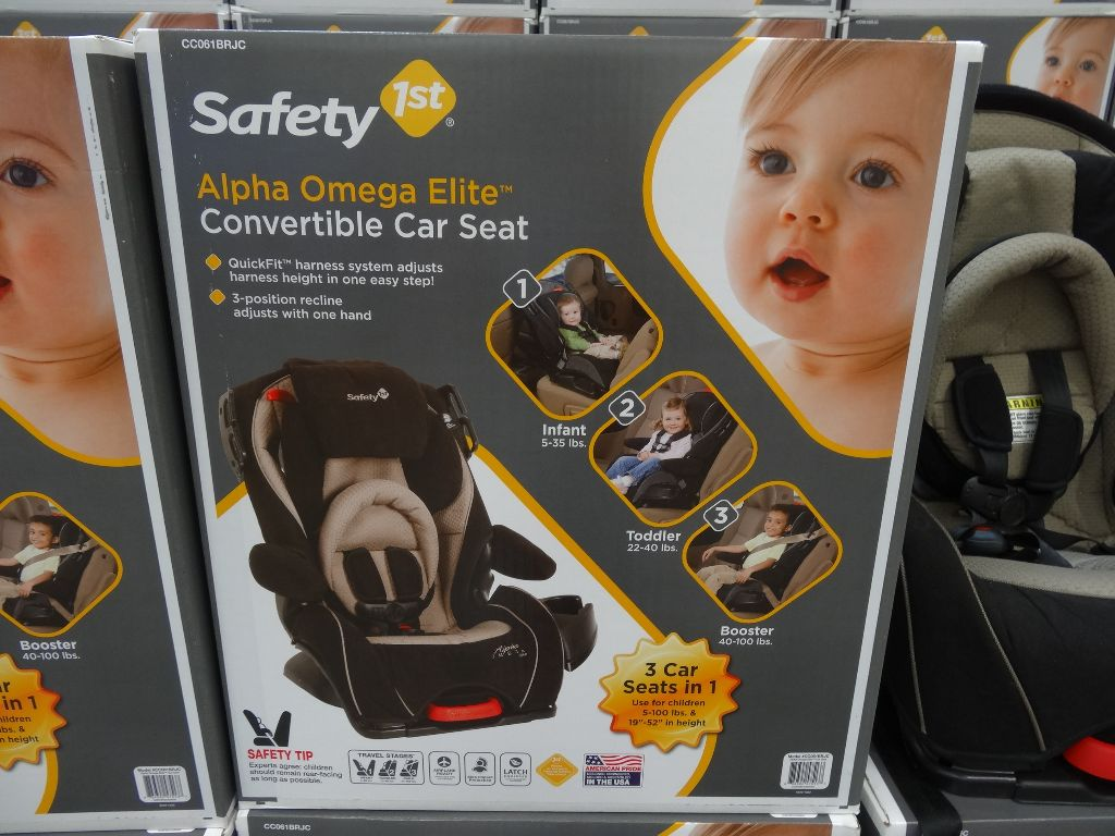 Alpha Omega Elite Convertible Car Seat Costco