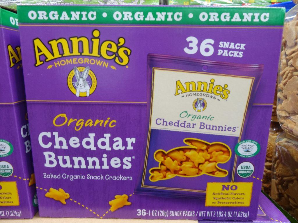 Annies Organic Bunny Snacks Costco