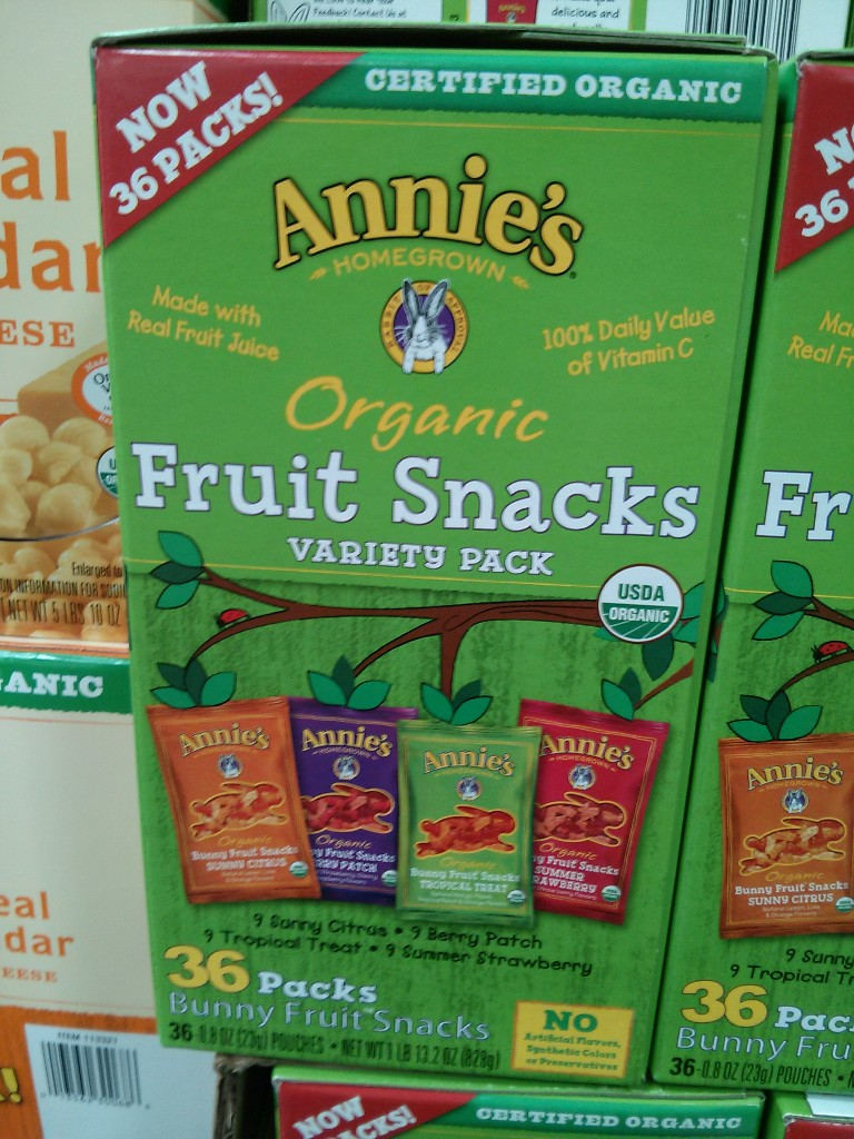 Annies Organic Fruit Snacks Costco