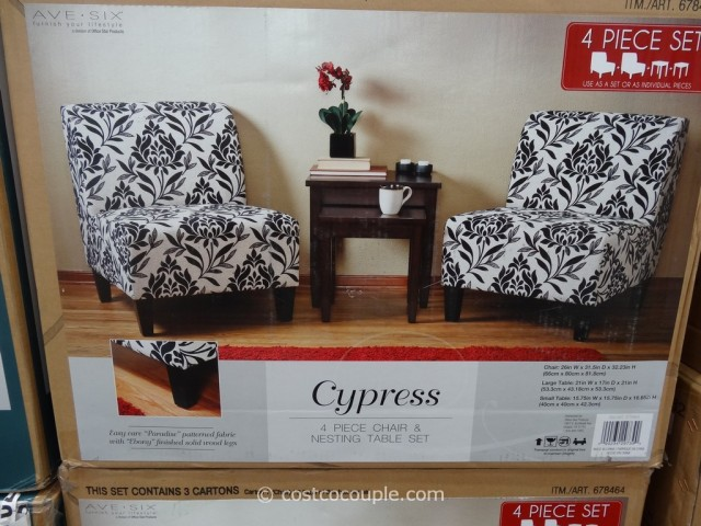 Ave Six Cypress Chair and Table Set Costco 2