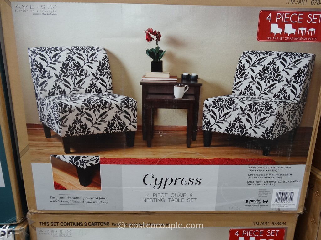 ave six cypress chair and table set - ave six cypress chair and table set costco
