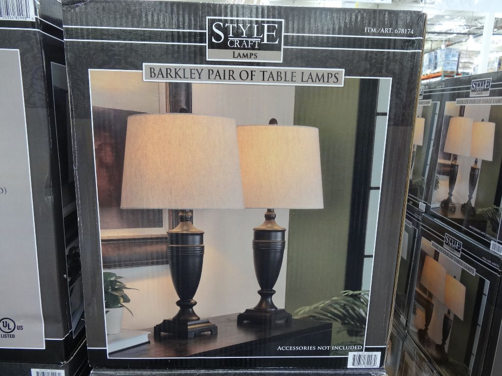 Barkley Table Lamps Costco