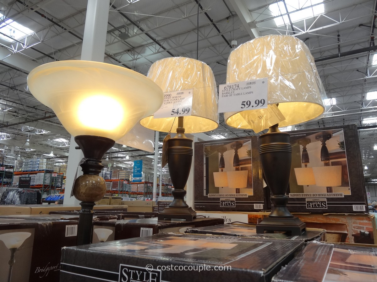 costco lamps gallery. Black Bedroom Furniture Sets. Home Design Ideas