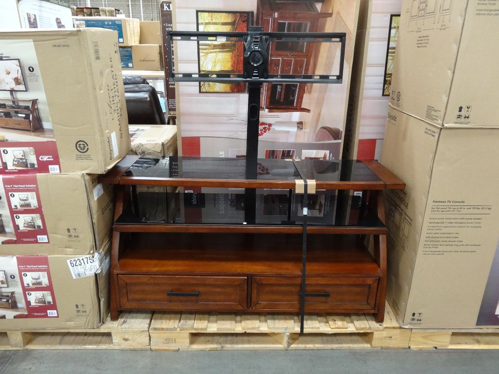 Bayside Furnishings Axon 3-In-1 TV Stand Costco