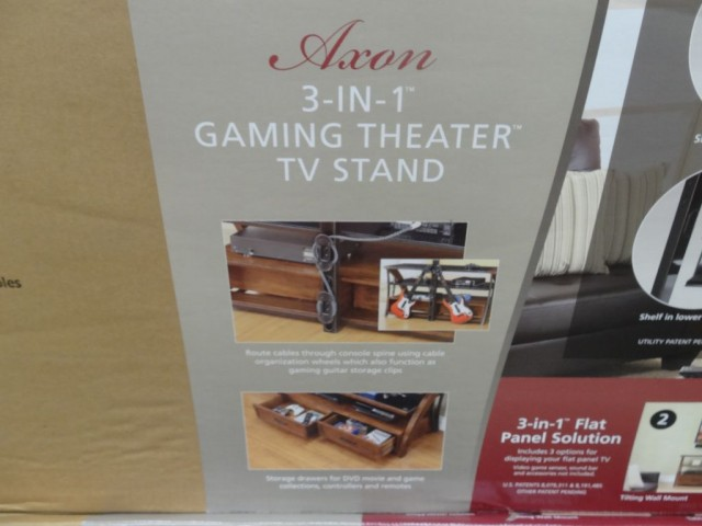 Bayside Furnishings Axon 3 In 1 Tv Stand