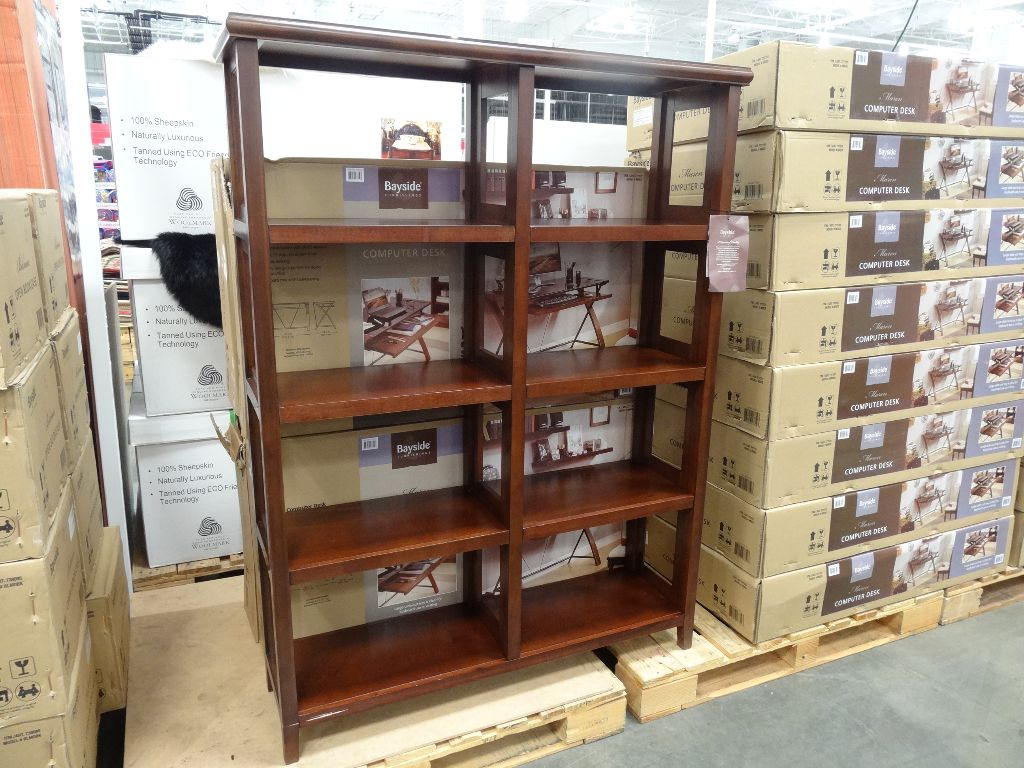 Bayside Furnishings Belmar Open Bookcase Costco