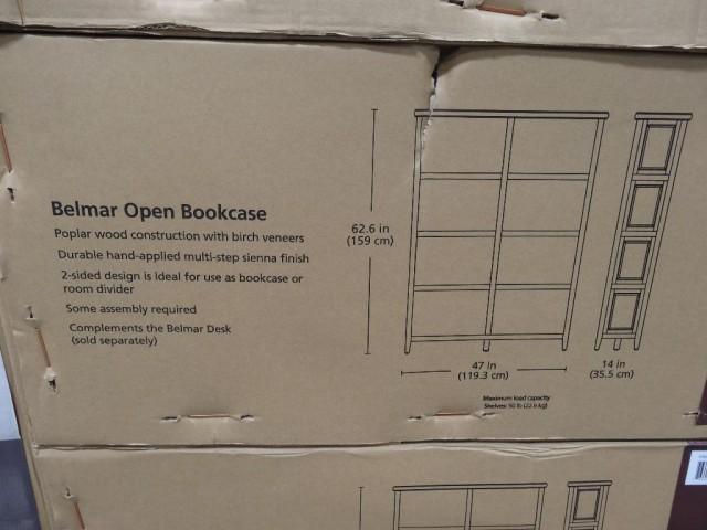 Bayside Furnishings Belmar Open Bookcase Costco