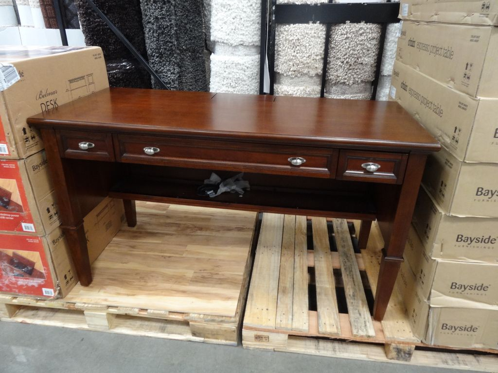 Bayside Furnishings Belmar Writing Desk Costco