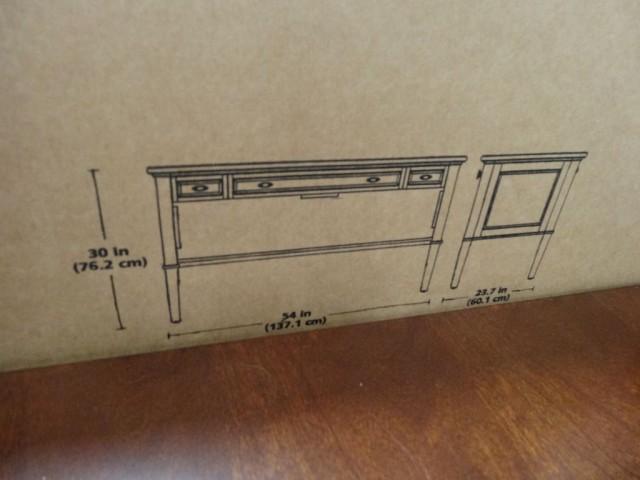 Bayside Furnishings Belmar Writing Desk Costco