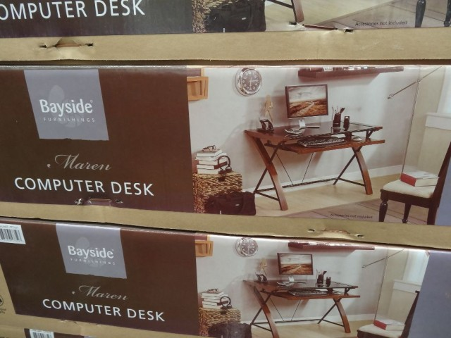 Bayside Furnishings Maren Computer Desk Costco