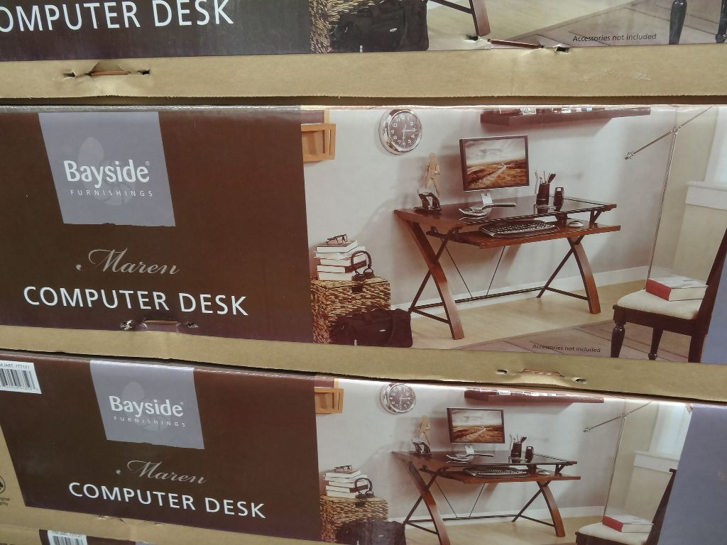 Bayside Furnishings Maren Computer Desk