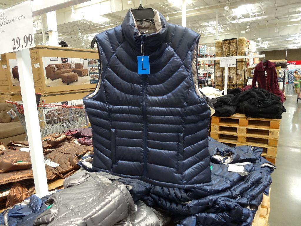 Bernado Ladies Packable Down Vest Costco