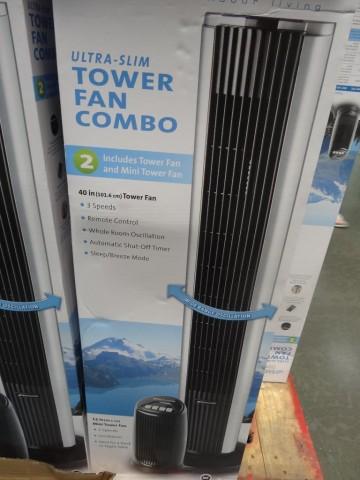 Bionaire Tower Fan Costco
