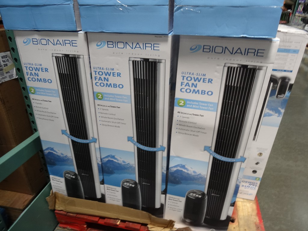 Bionaire Tower Fan Costco