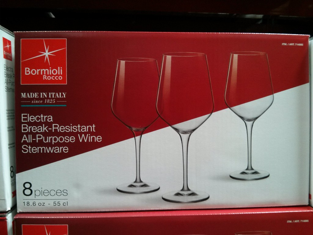 Bormioli Rocco Wine Stemware Set Costco