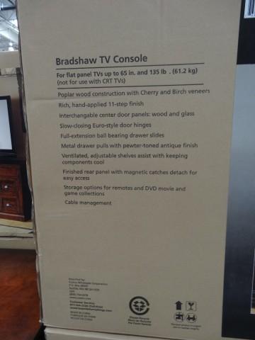 Bradshaw TV Console Costco