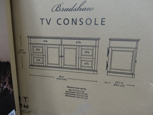 Bradshaw 60 Tv Console