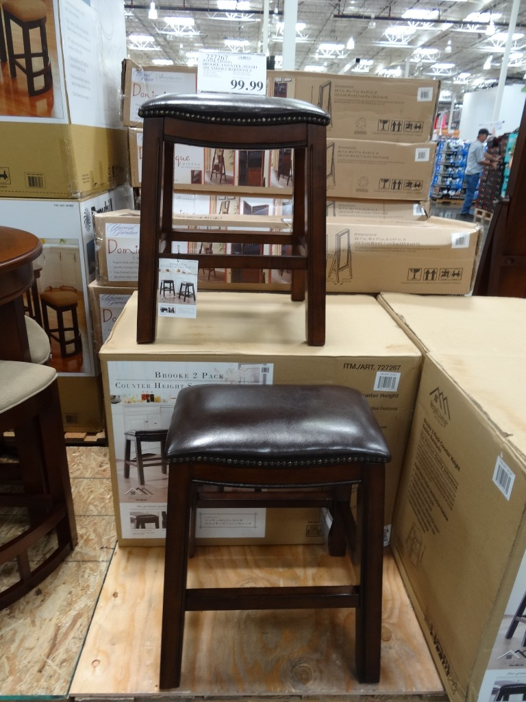 Brooke Counter Height Saddle Barstools