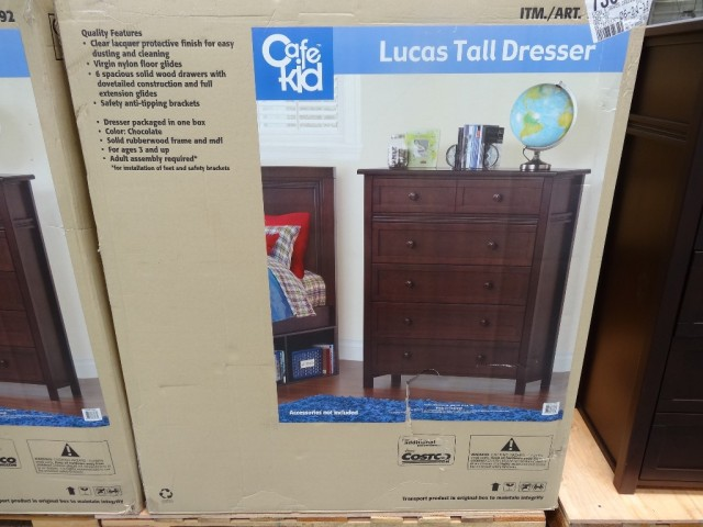 Cafe Kid Lucas Tall Dresser Costco
