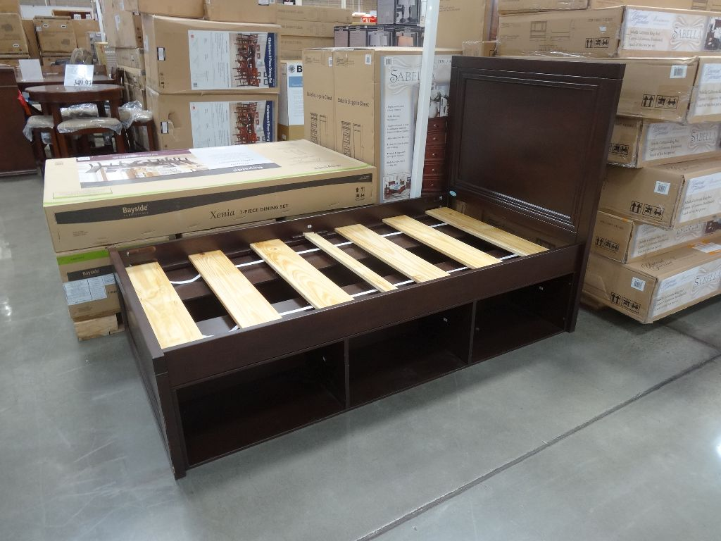 Picture of: Cafe Kid Lucas Twin Bed With Storage