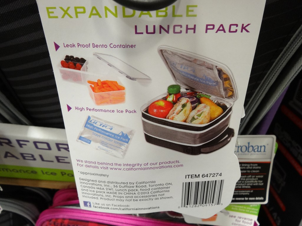 California Innovations Expandable Lunch Pack