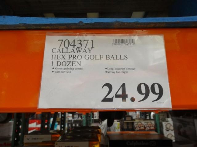 Callaway Hex Pro Golf Balls Costco