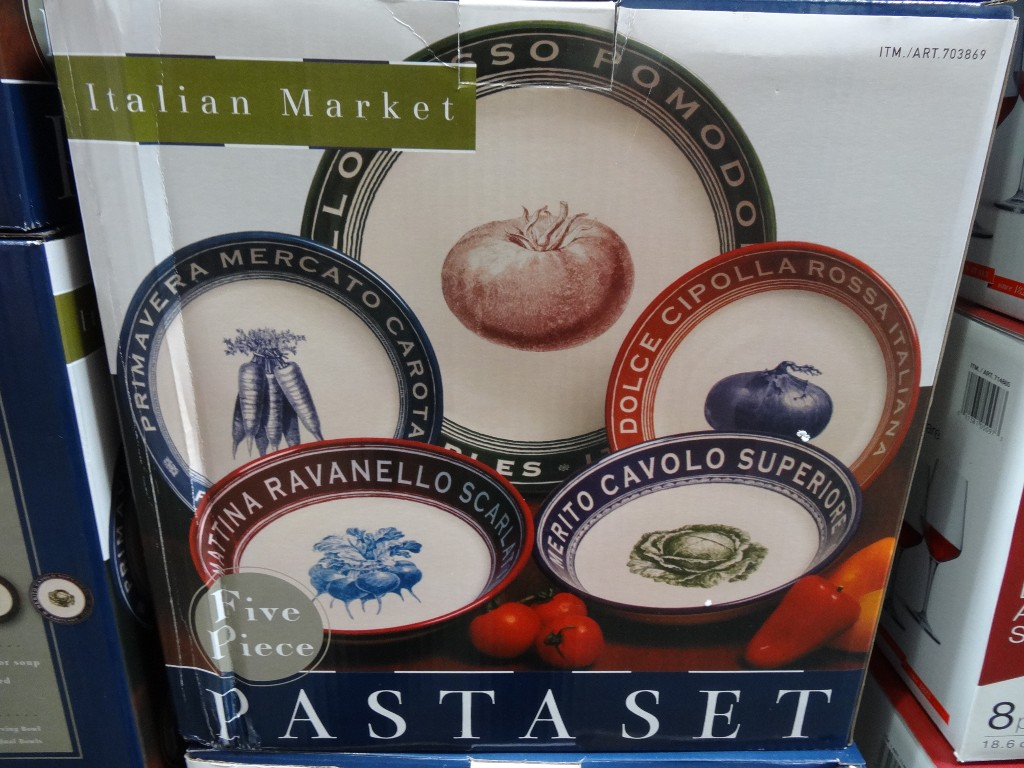 Certified 5 Piece Pasta Set Costco