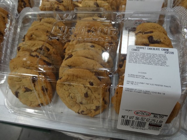 Chocolate Chunk Cookies Costco