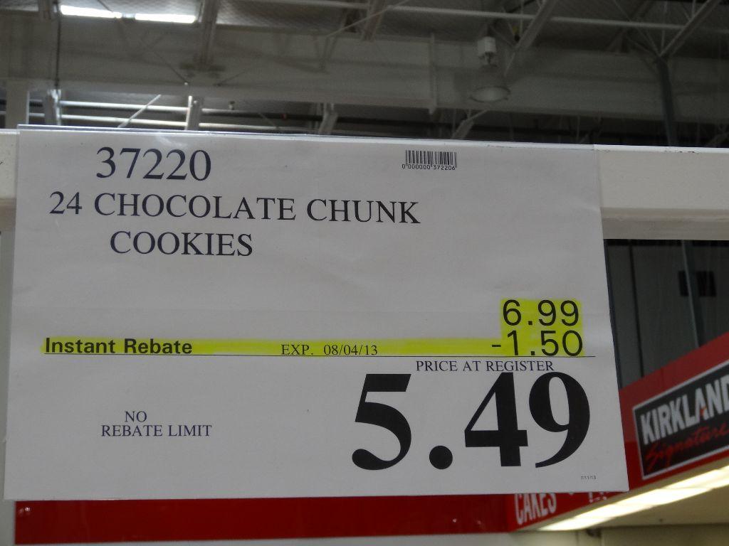 Chocolate Chip Cookies Price - Pumpkin Chocolate Chip Cookies