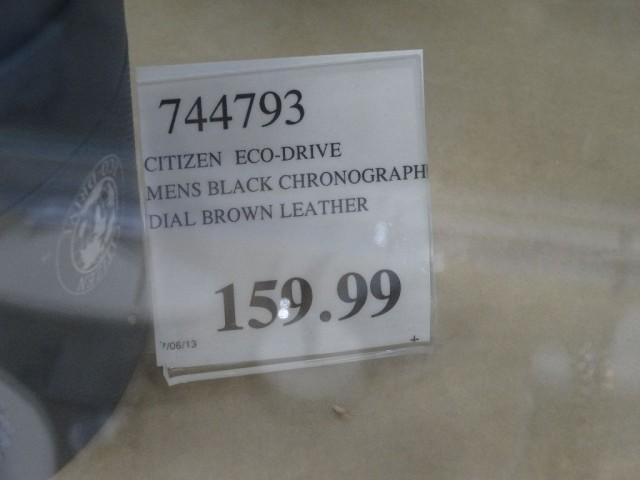Citizen Eco-Drive Black Chronograph Costco