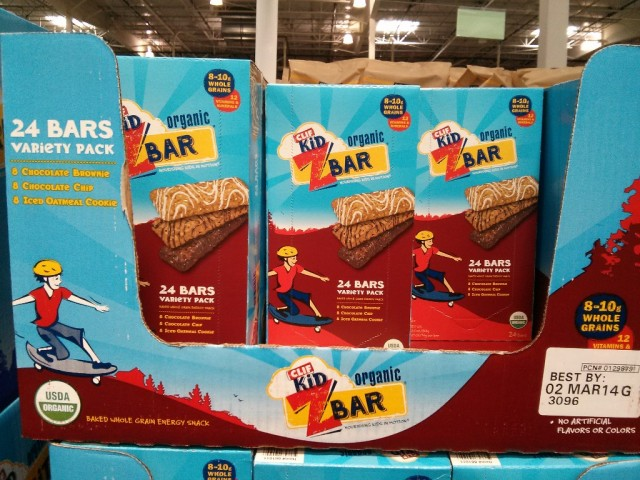 Clif Kid Z Bar Costco