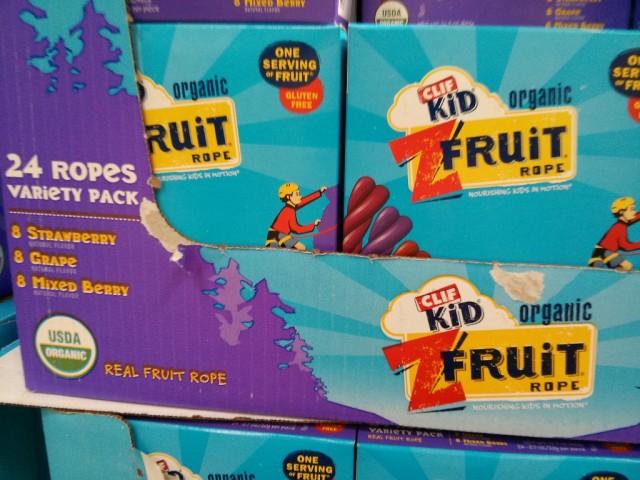 Clif Kid Z Fruit Rope Costco