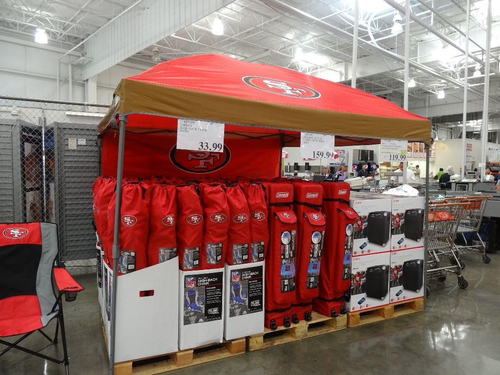 Coleman Canopy and Wall Costco & Coleman 10u2032 x 10u2032 Canopy and Wall