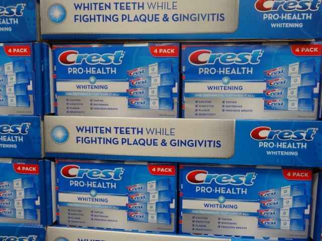 Crest Pro-Health Whitening Toothpaste Costco