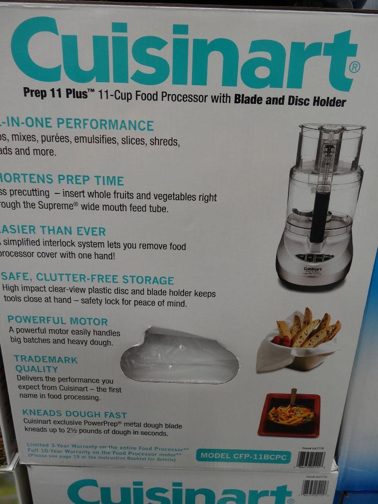 Cuisinart 11 Cup Food Processor Costco ...