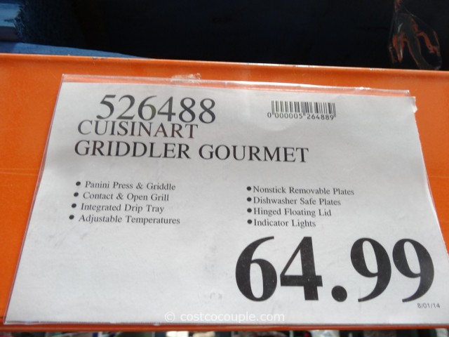 Cuisinart 5-in-1 Griddler Costco 1