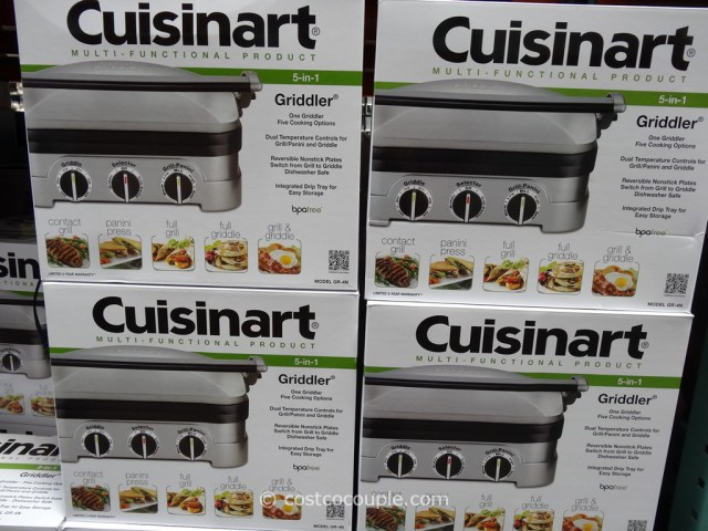 Cuisinart 5-in-1 Griddler Costco 3